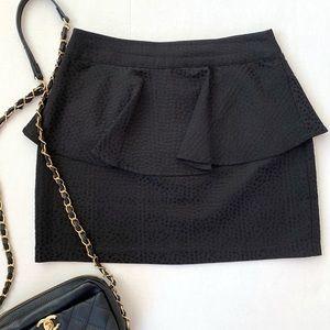 silence + noise | Urban Outfitters Peplum Skirt